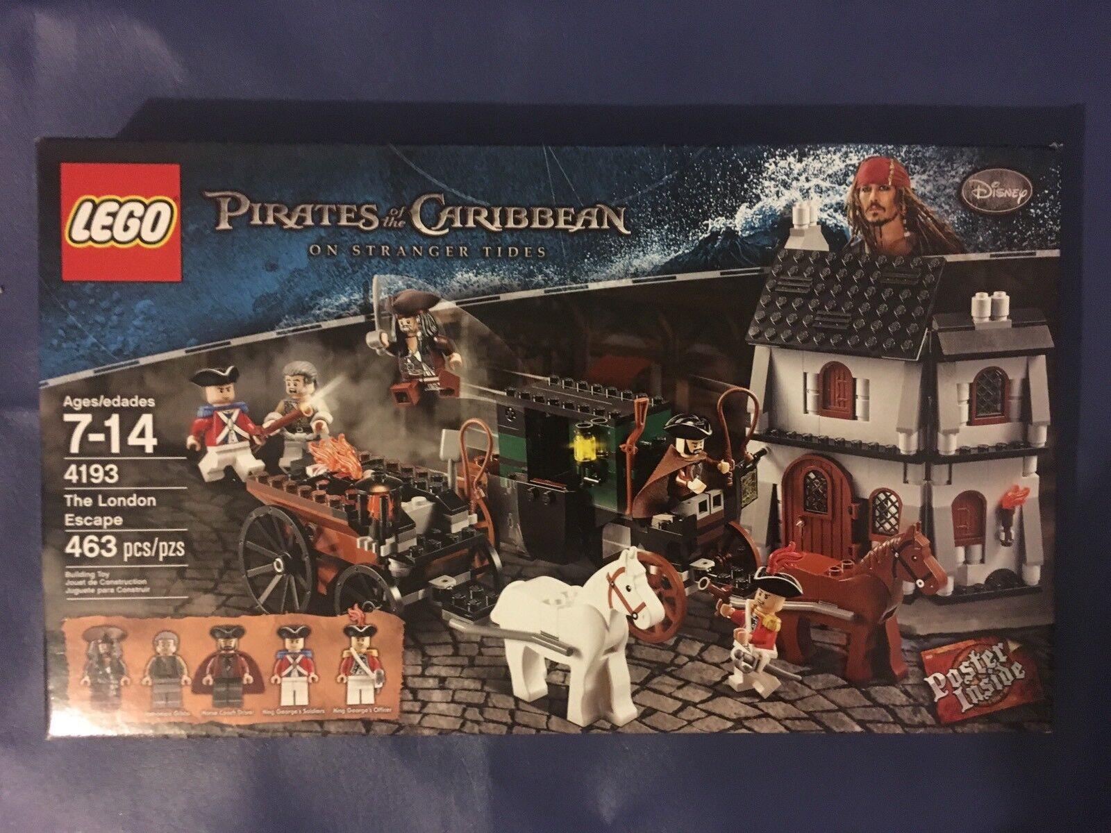 LEGO: Pirates of the Caribbean - The London Escape (4193) RETIROT   NIB