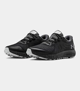 Men-039-s-Under-Armour-UA-Charged-Bandit-Trail-Running-Shoes-Black-Gray-3021951-001