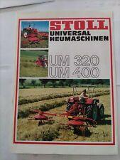 STOLL Zettwender Z 450 550 660 Hydro 0517 Prospekt Brochure 90er