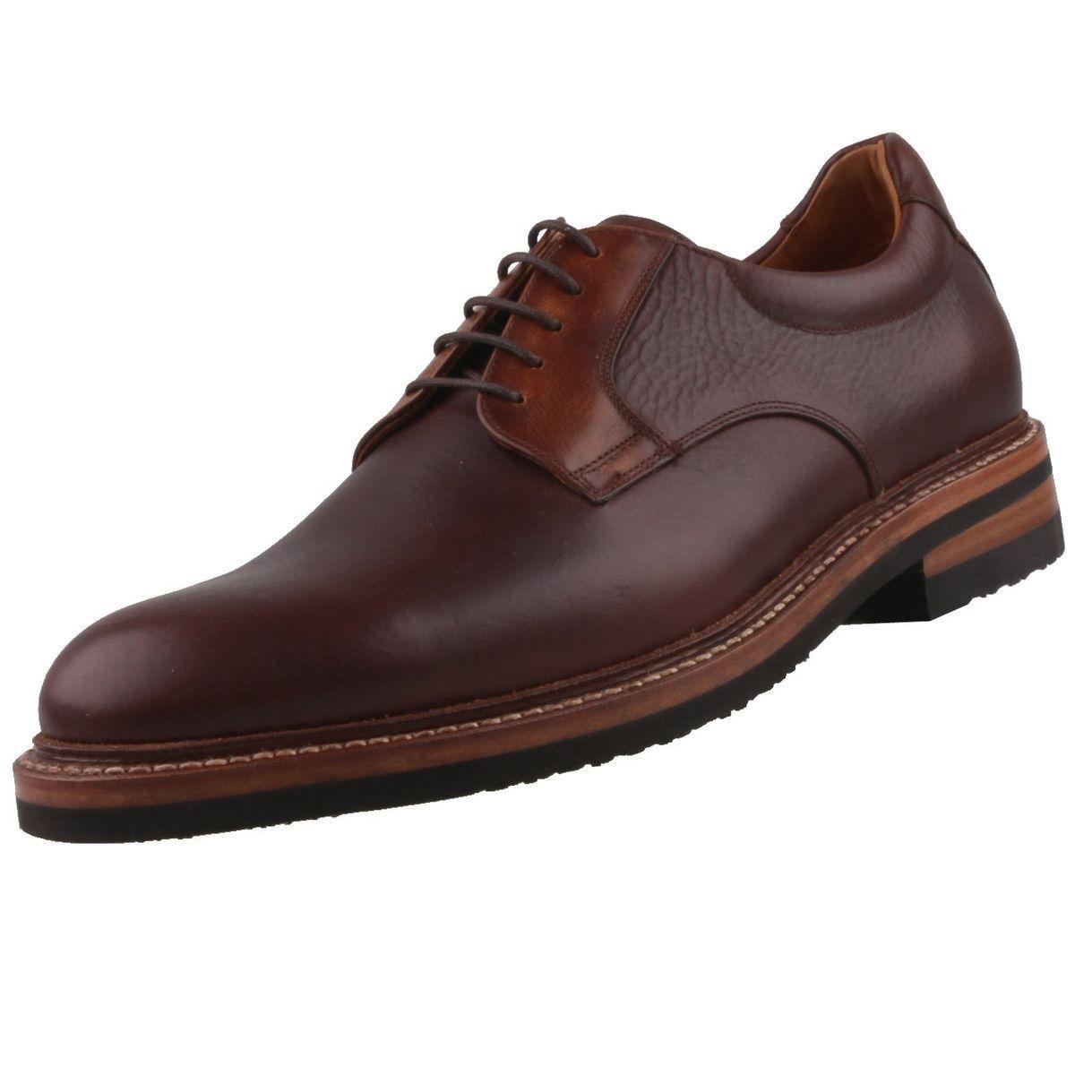 NEUF Sendra Chaussures homme Plates 14783 en cuir à lacets Business