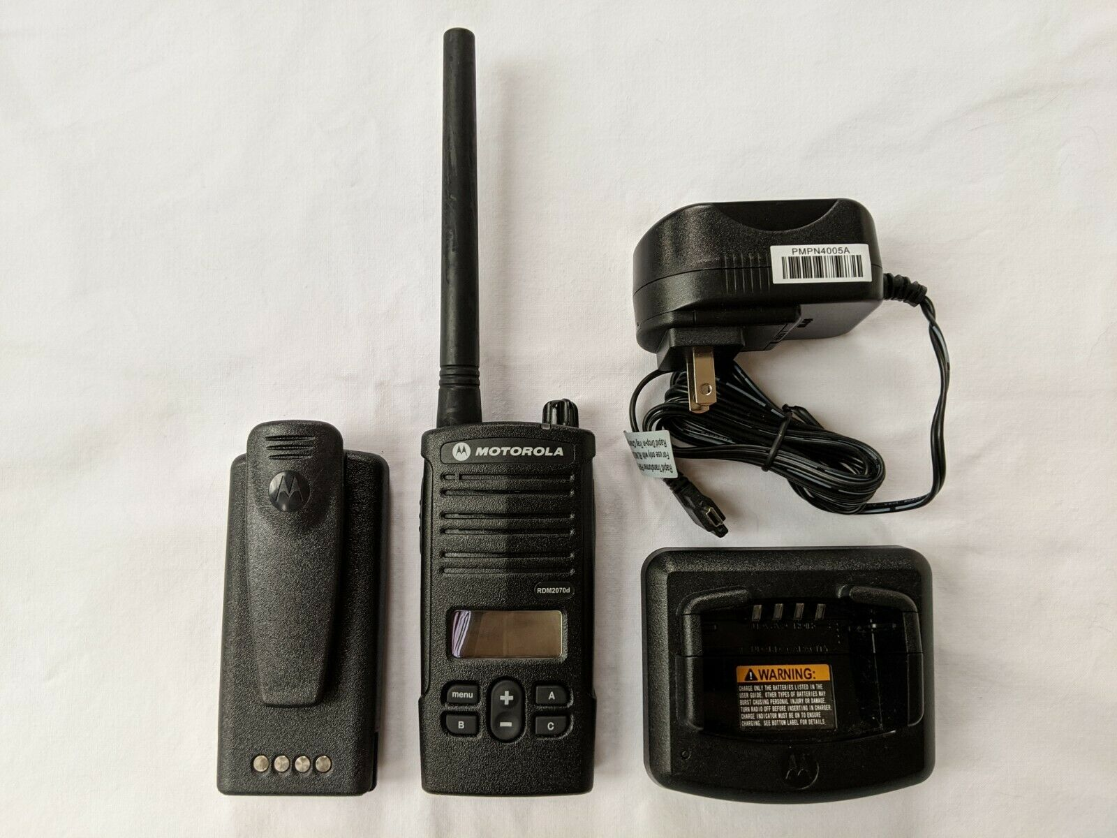 Motorola RDM2070D Walmart VHF Two-Way Radio. 2 watts / 7 channels. Available Now for 199.00
