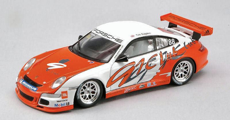 Porsche gt 3 winner Cup asia 2007 1 43 Model s1906 Spark Model