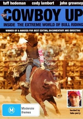 Cowboy Up NEW/SEALED (DVD, 2007) RODEO Freight train with horns R4