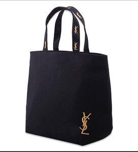 Image Is Loading Anese Magazine Style Fashion Large Embroidery Ysl Black