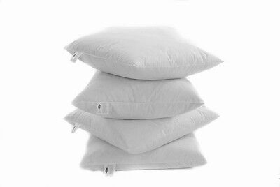 "New Quality Duck feather Cushion Pads for covers - 10"" inch to 30"" inch squared"