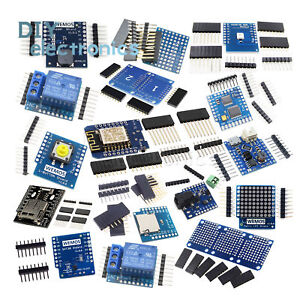 WeMos-D1-Mini-NodeMcu-Lua-ESP8266-Relay-Shield-Proto-Board-WiFi-Module-US