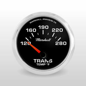 Marshall-C2-Transmission-Temperature-Gauge-Black-Dial-Stainless-Steel-Bezel
