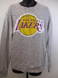 New Los Angeles Lakers Mens Sizes M-L-XL-2XL Majestic Sweater Sweatshirt