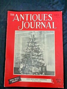 Antiques-Journal-1952-Alphabet-Samplers-Automaton-Mechanical-Box-Ives-Toy-Trains