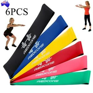 6PCS-Resistance-Bands-Strength-Arms-Legs-Exercise-Fitness-Gym-Crossfit-Yoga-AU