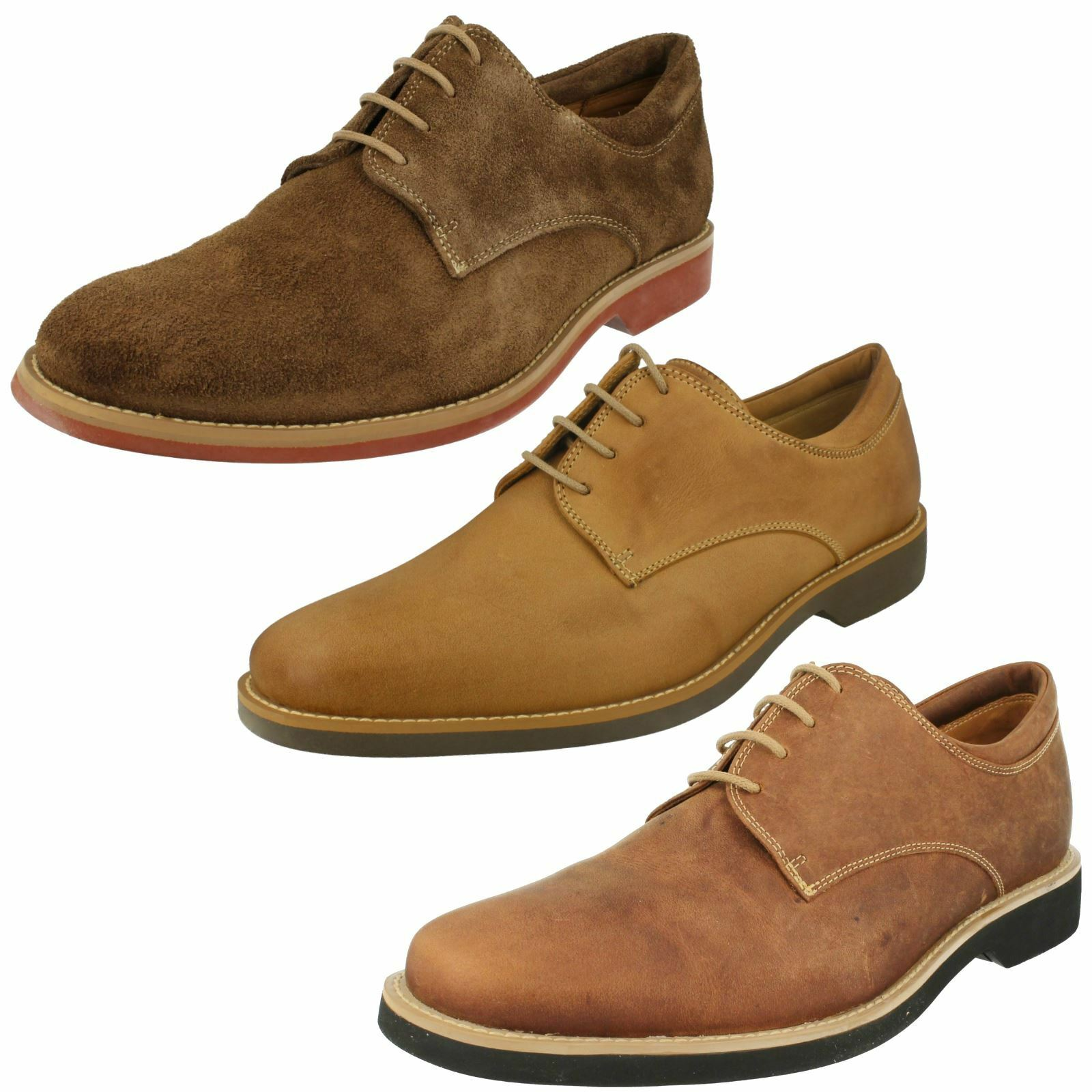 Mens Anatomic & Co Smart/Casual Lace Ups Delta