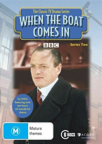 1 of 1 - When The Boat Comes In : Series 2 (DVD, 2015, 6-Disc Set) [Like new] (Q)