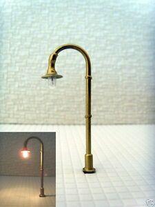S122 - Jeu 10-pc Luminaire De Rue Lampes À Arc 1-brûleur 4,7cm Bogenleuchten