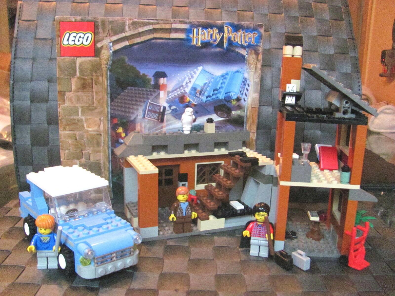 LEGO Harry Potter 4728 Flucht Ligusterweg u u u BA inkl 3 Fig. u. Zugabe Zimmer 0d81c4