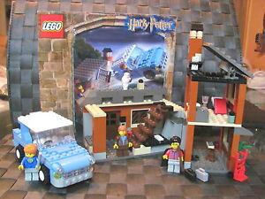 Lego Harry Potter 4728 échapper à Privet Drive U Ba 3 Fig. Salle d'addition