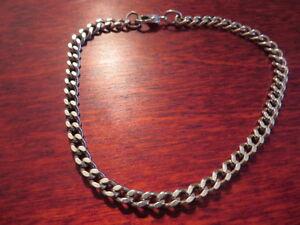 Tolles-925-Silber-Armband-Panzerkette-Unisex-Super-Modern-Schlicht-Designer-TOP