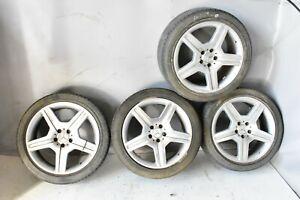 "Mercedes W221 S550 CL550 8.5 9.5 x 19 19"" AMG Wheel Rim Rims Set of 4 Tires OEM"