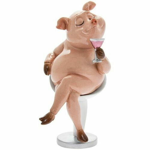 Gift Boxed THIS LITTLE PIGGY Collectable Pig Ornament Figure Figurine Novelty