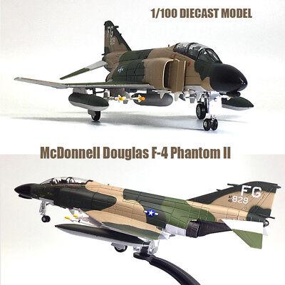 Amer Com US NAVY McDonnell Douglas F-4C Phantom Vietnam War 1//100 Diecast Model