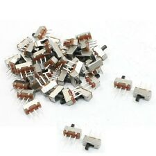 50Pcs SS12D00G3 2 Position SPDT 1P2T 3 Pin PCB Panel Mini Vertical Slide Switch