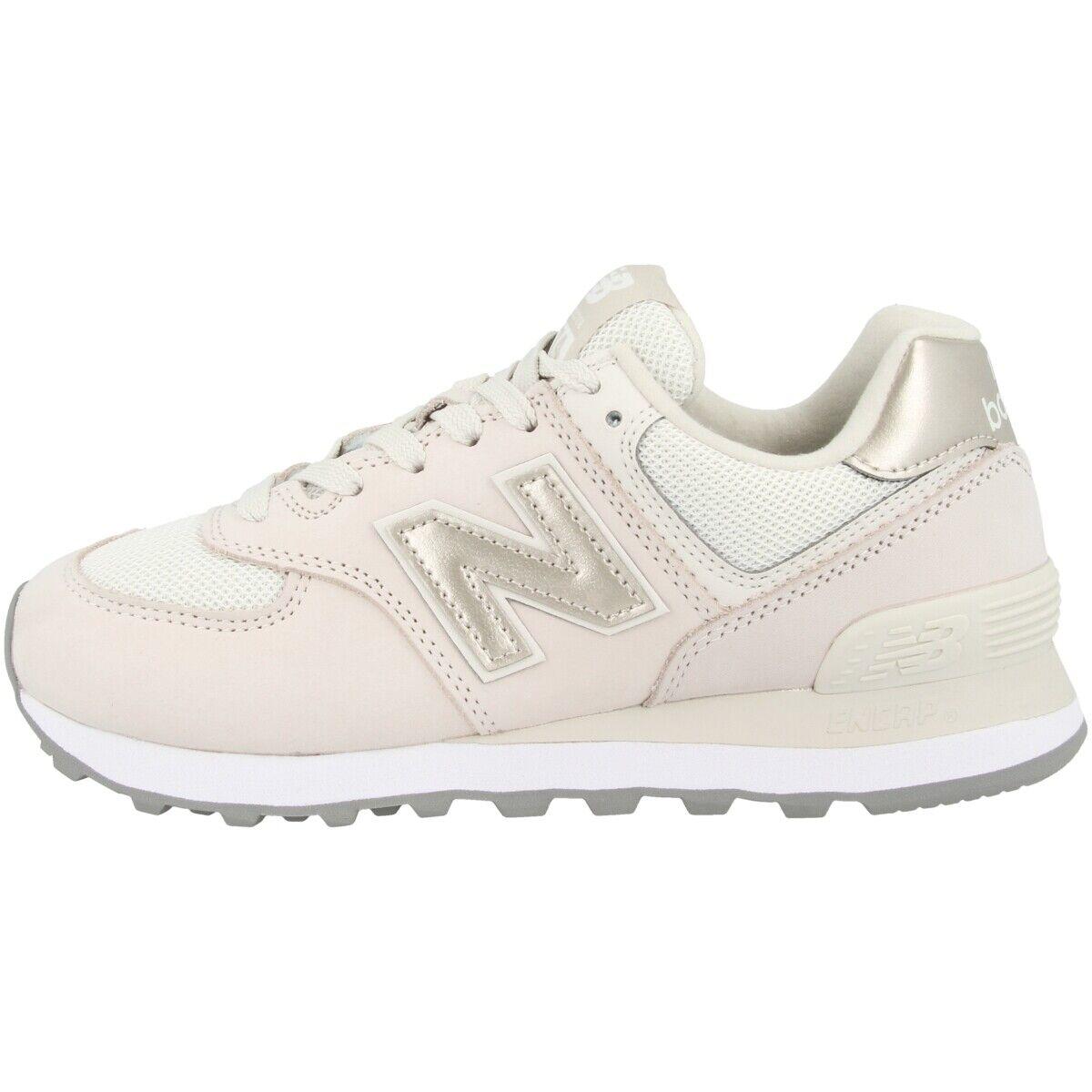 New balance wl 574 wno zapatos woman sport zapatos moonbeam Champagne wl574wno