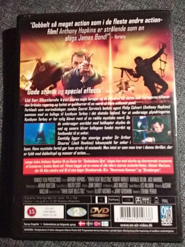 SPILLET ER UDE, DVD, action