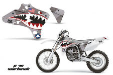 AMR Racing Yamaha YZ 250F/450F Shroud Graphic Kit MX Bike Decals 03-05 WARHAWK S
