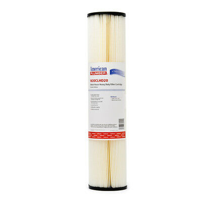Hydronix SPC-45-1030 30 Micron 10x4.5 Whole House Pleated Sediment Water Filter