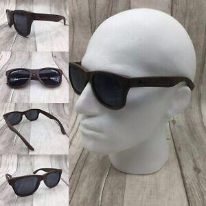 Men's Handcrafted Ebony Wood Frame TAC Polarized Sunglasses 100% UV400