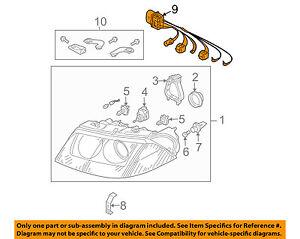 b5 passat wiring diagram xenon vw volkswagen oem 01 05 passat headlamp front lamps wire harness  vw volkswagen oem 01 05 passat headlamp
