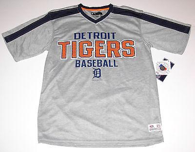 Fettiges Essen Zu Verdauen Detroit Tigers Jersey T-shirt Erwachsenengröße L Grau Neu W Tag Um Zu Helfen