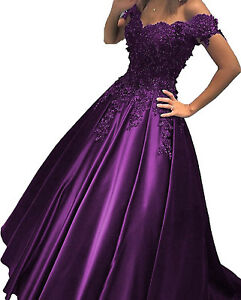 Long-Burgundy-Prom-Dress-with-Lace-Formal-Party-Quinceanera-Gown-Off-Shoulder