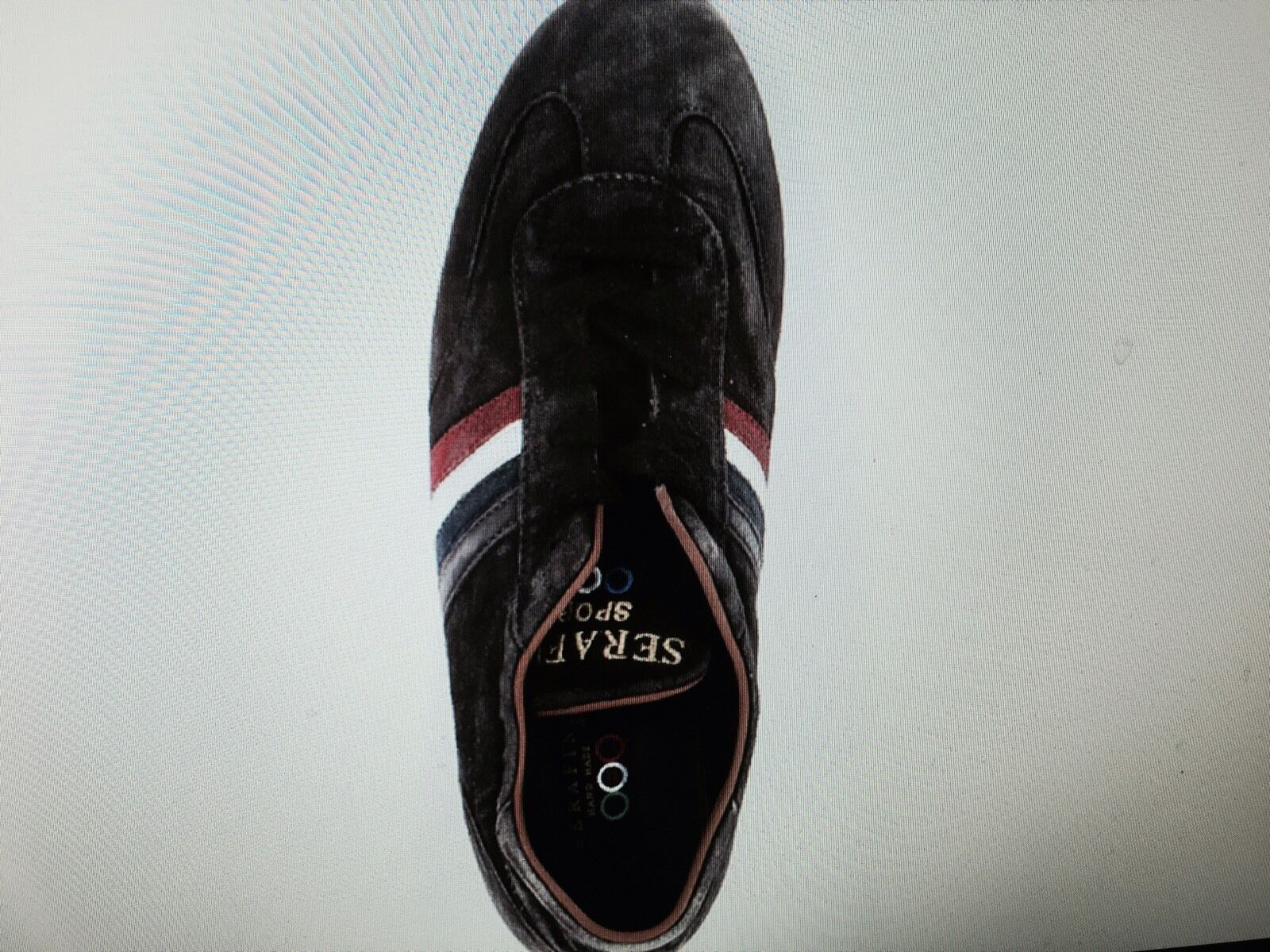 Nuevos Zapatos Deportivos Serafini Italia Lujo Negro Lavado Negro Lujo 45 36539d