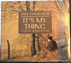 Sealed-PHIL-UPCHURCH-CD-It-039-s-My-Thing-Wondervision-Entertainment-digipak