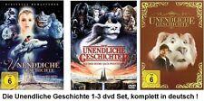 Die unendliche Geschichte 1+2+3 * DVD *  Set , Collection * NEU OVP *  I+II+III