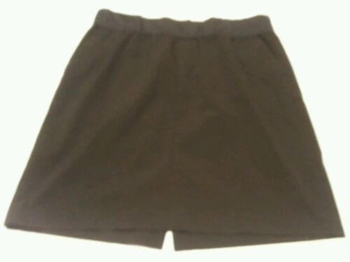 Gap Maternity Stretch Pregnancy Solid Black Knee Length Skirt Size 12