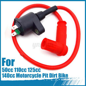Racing-Ignition-Coil-HT-Lead-For-50cc-110cc-125cc-140cc-Motorcycle-Pit-Dirt