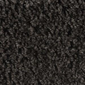 Teppichboden Meterware Hochflor Velours 4m 5m Schwarz Anthrazit