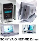 SONY VAIO Net-MD MINIDISC Driver on CD-ROM PC for Laptop Notebook Workstation