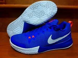 4263f10f178282 Nike Zoom Live II 2 Racer Blue White Men Basketball Shoes Duke 10.5 ...