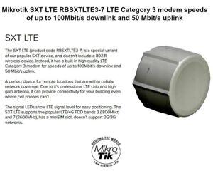 Details about Mikrotik - RBSXTLTE3-7 SXT LTE Antenna with Router (Bands  3/7)