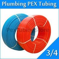 "2 rolls 3/4"" x 100ft PEX Tubing for Potable Water Combo"