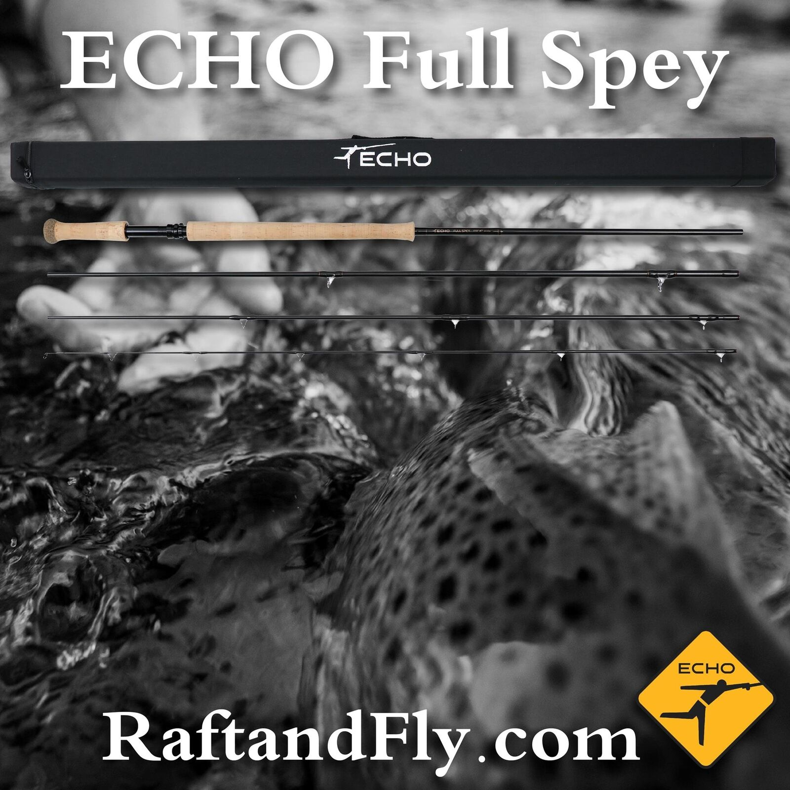 ECHO Full Spey 7wt 13'0  New for 2019   FREE SHIPPING