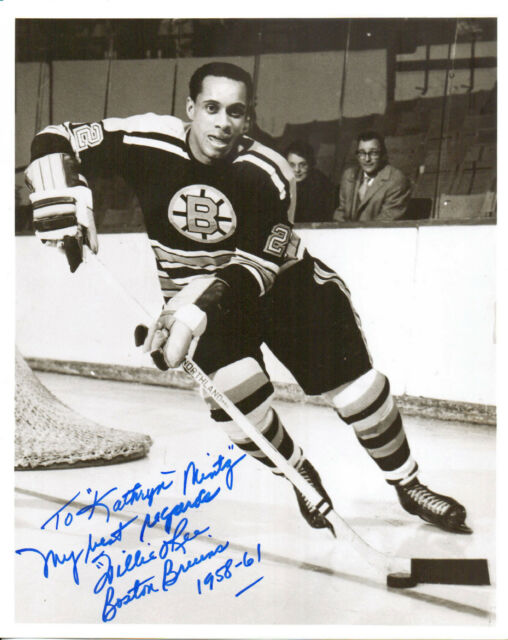 WILLIE O'REE - Ice Hockey Player - Boston Bruins ...