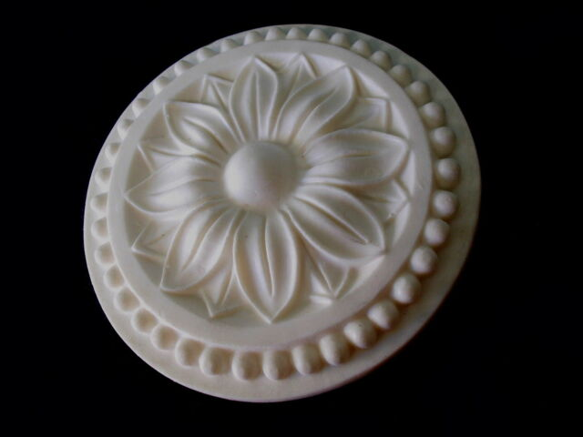 DECORATIVE FLOWER CEILING ROSE SILICONE RUBBER MOULD