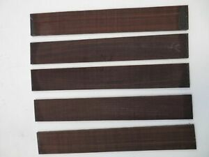 5-LOT-OF-5-GUITAR-LUTHIER-ROSEWOOD-FINGERBOARD-BLANK-21-X-2-15-16-X-3-8