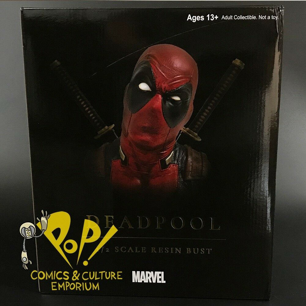 Deadpool Legendarios Comics 1 2 escala 10  Busto Diamond Select Juguetes Marvel