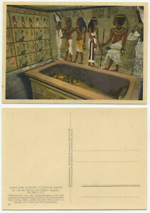 02348-Tut-ench-Amun-Grabkammer-alte-Ansichtskarte