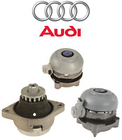 Audi A8 Quattro S8 Set Of Left And Right And Front Engine Motor Mounts Genuine