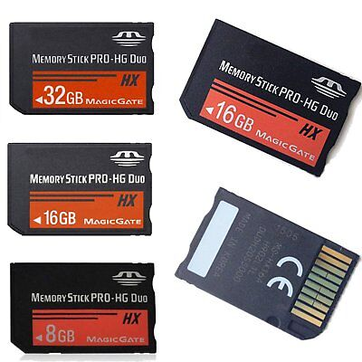 New Ms Memory Stick Pro Hg Duo Media Magicgate Card For